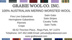 GRABIE WOOL, INC.