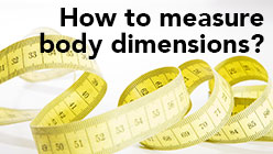 How to measure body dimensions