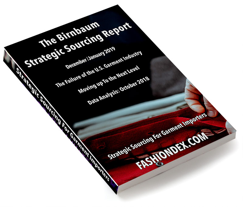 The Birnbaum Report/Strategic Sourcing for Garment Importers